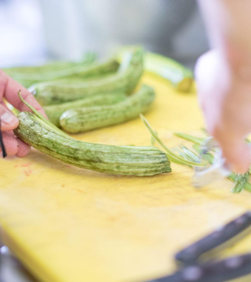 zucchine preparazione